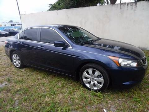 2008 Honda Accord for sale in Miramar, FL