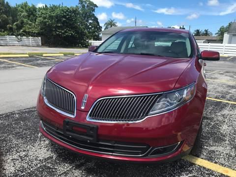 2014 Lincoln MKS for sale in Miramar, FL