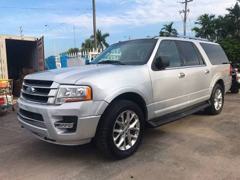 2016 Ford Expedition EL for sale in Miramar, FL