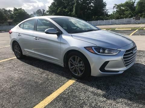 2018 Hyundai Elantra for sale in Miramar, FL