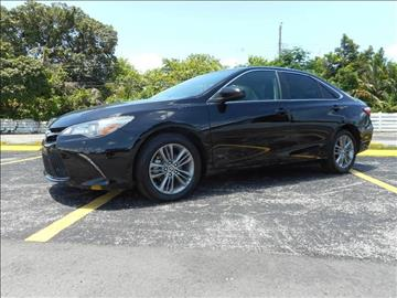 2015 Toyota Camry for sale in Miramar, FL