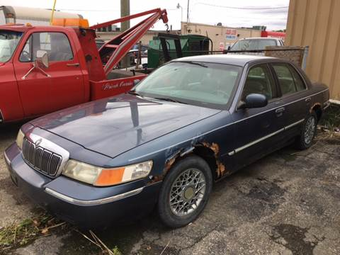 1998 Mercury Grand Marquis for sale at Bob Fox Auto Sales in Port Huron MI