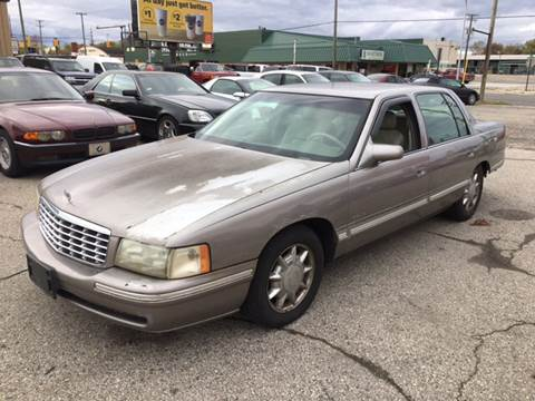 1998 Cadillac DeVille for sale at Bob Fox Auto Sales in Port Huron MI