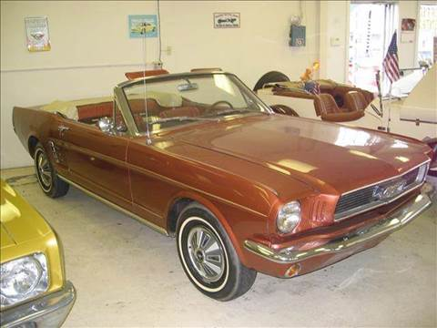 1966 Ford Mustang for sale at Bob Fox Auto Sales in Port Huron MI