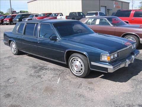1986 Cadillac Fleetwood for sale at Bob Fox Auto Sales in Port Huron MI