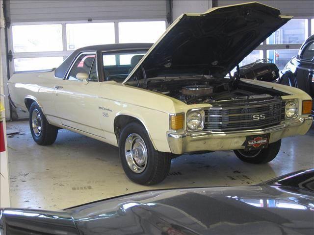 1972 Chevrolet El Camino SS clone - Port Huron MI