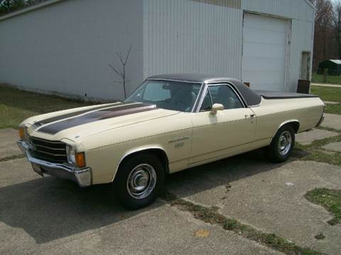 1972 Chevrolet El Camino for sale at Bob Fox Auto Sales in Port Huron MI