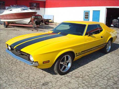 1971 Ford Mustang for sale at Bob Fox Auto Sales in Port Huron MI