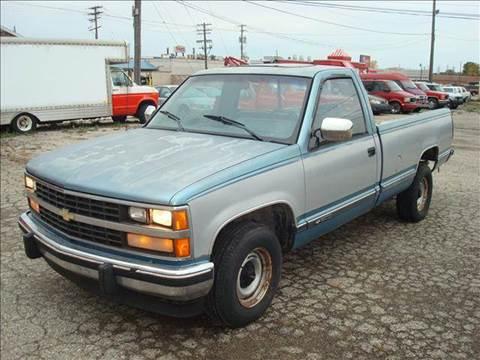 1988 Chevrolet CK 1500 Series For Sale  Carsforsalecom