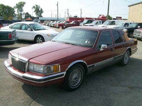 1990 Lincoln Town Car for sale at Bob Fox Auto Sales in Port Huron MI