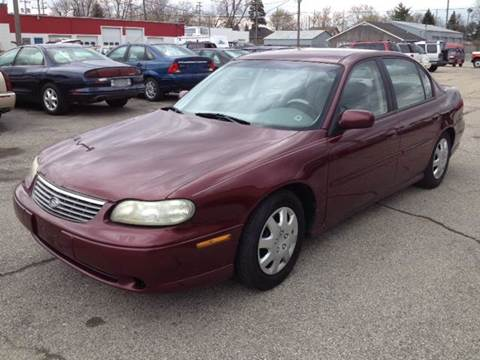 1998 Chevrolet Malibu for sale at Bob Fox Auto Sales in Port Huron MI