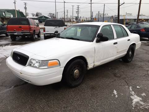 2011 Ford Crown Victoria for sale at Bob Fox Auto Sales in Port Huron MI