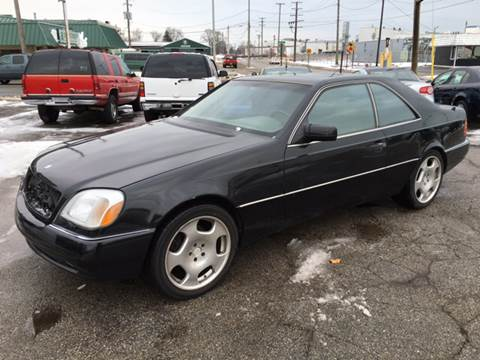 Mercedes coupe 1995