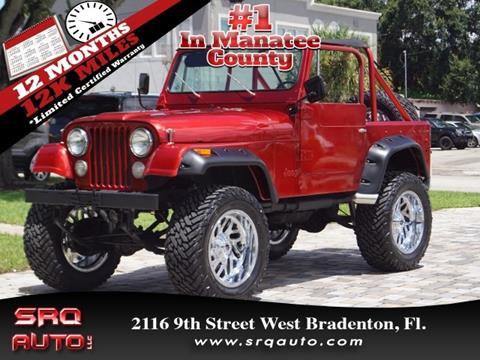 1979 Jeep CJ-7 for sale in Bradenton, FL