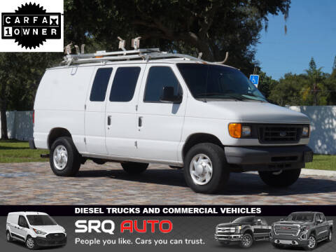 2007 Ford E-Series Cargo for sale at SRQ Auto LLC in Bradenton FL