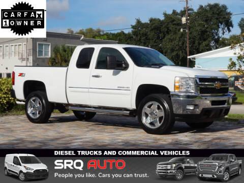 2013 Chevrolet Silverado 2500HD for sale at SRQ Auto LLC in Bradenton FL