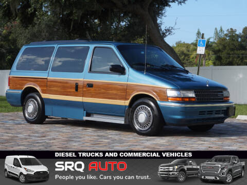 1992 Plymouth Grand Voyager for sale at SRQ Auto LLC in Bradenton FL