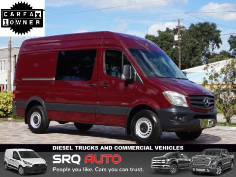 2014 Mercedes-Benz Sprinter Cargo for sale at SRQ Auto LLC in Bradenton FL