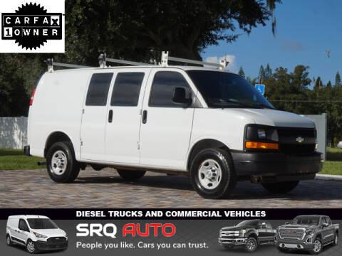 2013 Chevrolet Express Cargo for sale at SRQ Auto LLC in Bradenton FL