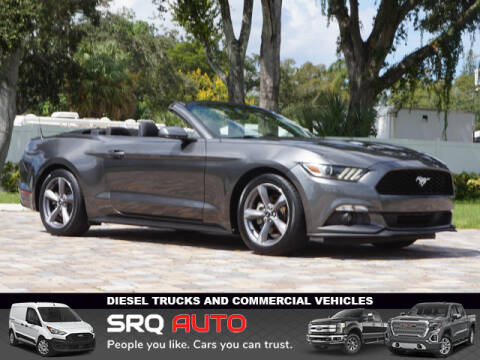 2015 Ford Mustang for sale at SRQ Auto LLC in Bradenton FL