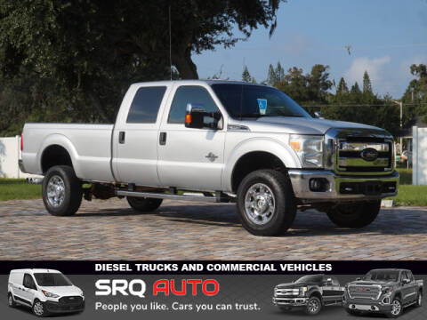 2012 Ford F-350 Super Duty for sale at SRQ Auto LLC in Bradenton FL