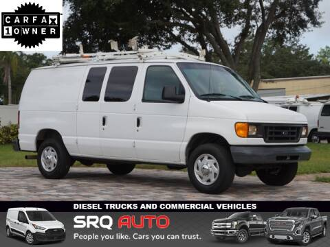 2006 Ford E-Series Cargo for sale at SRQ Auto LLC in Bradenton FL