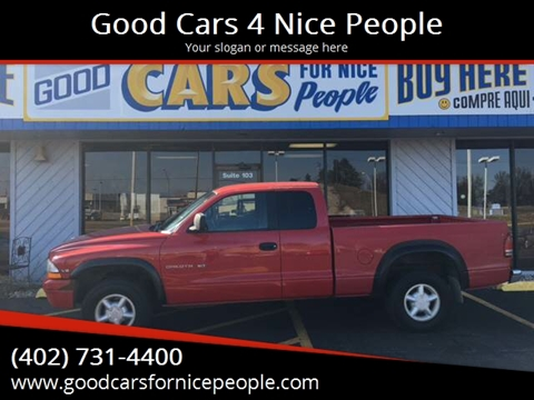 1997 Dodge Dakota for sale at Good Cars 4 Nice People in Omaha NE
