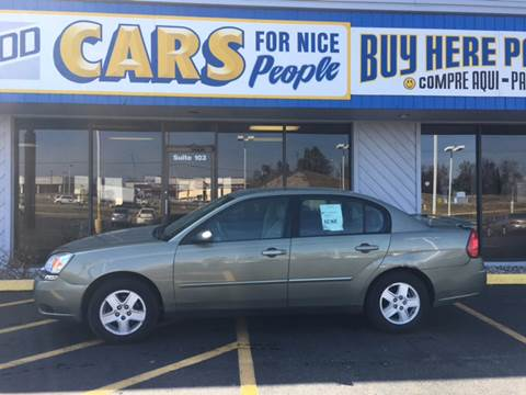 2005 Chevrolet Malibu for sale at Good Cars 4 Nice People in Omaha NE