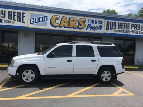 2003 Chevrolet TrailBlazer for sale at Good Cars 4 Nice People in Omaha NE