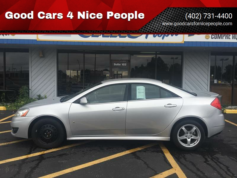 2009 pontiac g6 gt 4dr sedan w 1sb in omaha ne good cars 4 nice people 2005 Pontiac G6 2009 pontiac g6 gt 4dr sedan w 1sb omaha ne