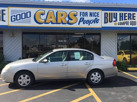 2007 Chevrolet Malibu for sale at Good Cars 4 Nice People in Omaha NE