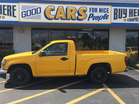 2007 Chevrolet Colorado for sale at Good Cars 4 Nice People in Omaha NE