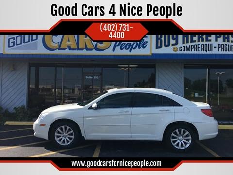 2010 Chrysler Sebring for sale at Good Cars 4 Nice People in Omaha NE