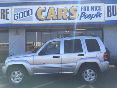 2002 Jeep Liberty for sale at Good Cars 4 Nice People in Omaha NE