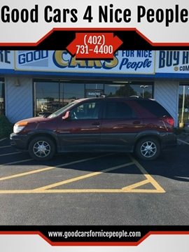2002 Buick Rendezvous for sale at Good Cars 4 Nice People in Omaha NE