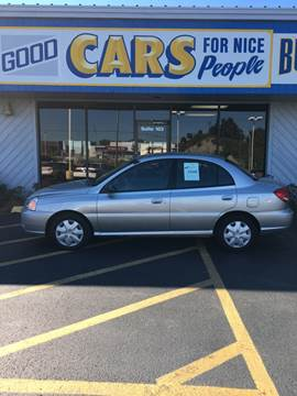 2005 Kia Rio for sale at Good Cars 4 Nice People in Omaha NE