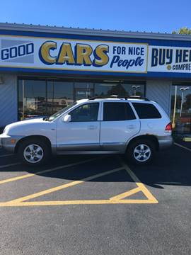 2005 Hyundai Santa Fe for sale at Good Cars 4 Nice People in Omaha NE