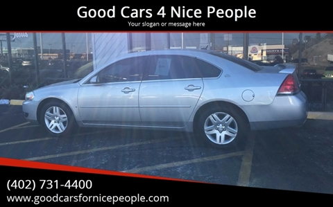 2006 Chevrolet Impala for sale at Good Cars 4 Nice People in Omaha NE