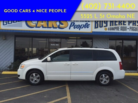 2008 Dodge Grand Caravan for sale at Good Cars 4 Nice People in Omaha NE