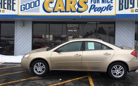 2006 Pontiac G6 for sale at Good Cars 4 Nice People in Omaha NE