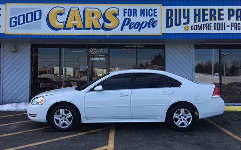2011 Chevrolet Impala for sale at Good Cars 4 Nice People in Omaha NE