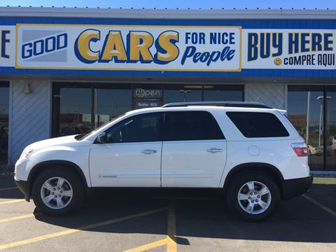 2007 GMC Acadia for sale at Good Cars 4 Nice People in Omaha NE