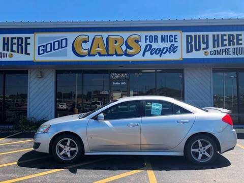 2009 Pontiac G6 for sale at Good Cars 4 Nice People in Omaha NE