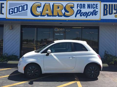 2012 FIAT 500 for sale at Good Cars 4 Nice People in Omaha NE