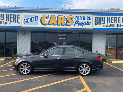 2012 Mercedes-Benz C-Class for sale at Good Cars 4 Nice People in Omaha NE
