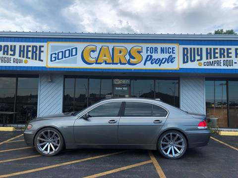 2002 BMW 7 Series for sale at Good Cars 4 Nice People in Omaha NE