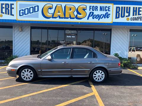 2002 Hyundai Sonata for sale at Good Cars 4 Nice People in Omaha NE