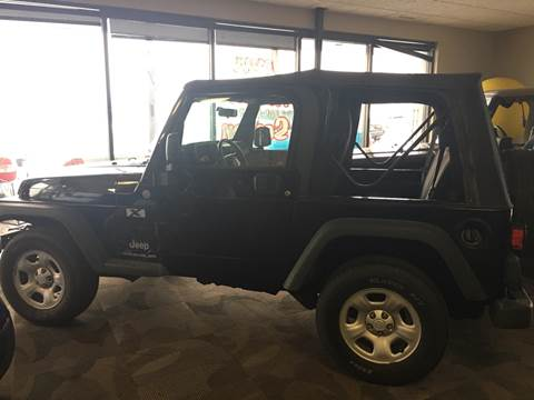 2004 Jeep Wrangler for sale at Good Cars 4 Nice People in Omaha NE
