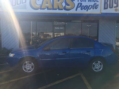 2004 Saturn Ion for sale at Good Cars 4 Nice People in Omaha NE
