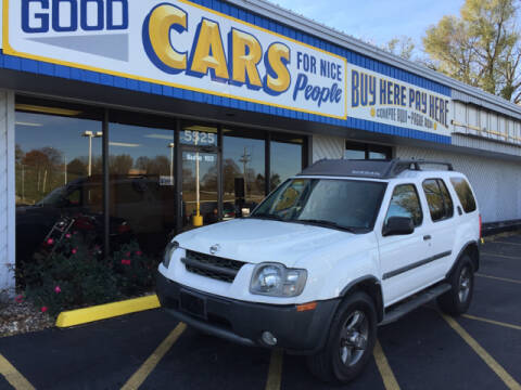 2002 Nissan Xterra for sale at Good Cars 4 Nice People in Omaha NE